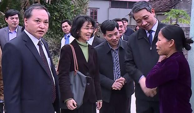 Le PNUD offre 340 maisons a des pauvres de Thanh Hoa hinh anh 1
