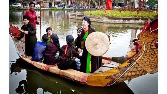 "Festival du "" quan ho "" du 13 au 28 fevrier a Bac Ninh hinh anh 1"
