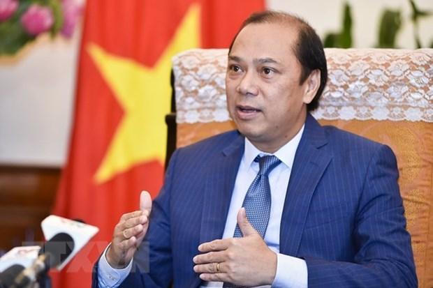 L'envoye special du Premier ministre en visite au Myanmar hinh anh 1