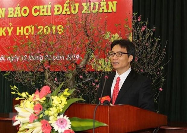 Vice-Premier ministre Vu Duc Dam: les activites journalistiques ont ete plus professionnelles hinh anh 1