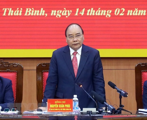 Le Premier ministre salue les realisations socio-economiques de Thai Binh hinh anh 1