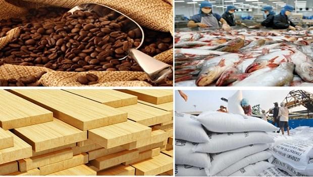 Janvier: 3,2 milliards de dollars d'exportation de produits agricoles, sylvicoles et aquatiques hinh anh 1