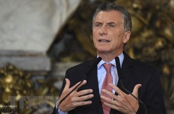 La visite d'Etat du president Mauricio Macri renforcera le partenariat integral Vietnam-Argentine hinh anh 1