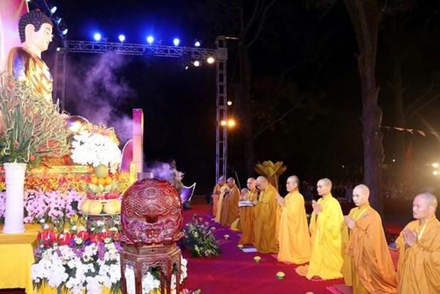 Hai Duong : Fete Lien Hoa Hoi Thuong a la pagode Con Son hinh anh 1