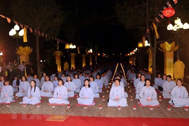 Hai Duong : Fete Lien Hoa Hoi Thuong a la pagode Con Son hinh anh 2