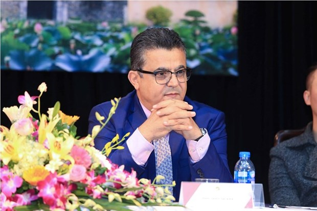 «La culture vietnamienne me seduit de plus en plus», confie l'ambassadeur palestinien hinh anh 1