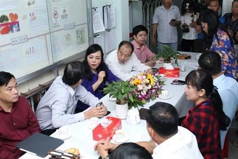 Ho Chi Minh-Ville lutte contre les risques d'epidemie de rougeole hinh anh 1