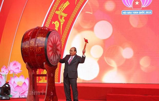 La fete nationale de la presse 2019 s'ouvre a Hanoi hinh anh 1