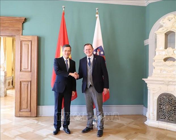 Le Vietnam et le Land allemand de Thuringe intensifient leur cooperation hinh anh 1