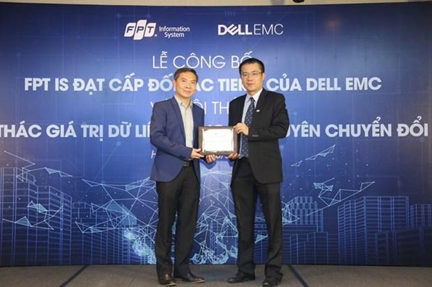 La societe du systeme d'information FPT devient le partenaire de plus haut niveau de Dell EMC hinh anh 1
