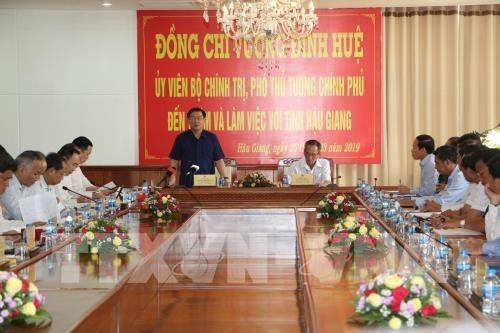 Hau Giang devrait devenir une province developpee dans les cinq annees a venir hinh anh 1