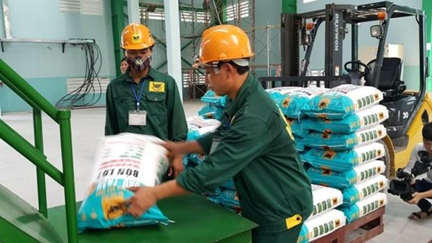 Deux tiers du volume d'engrais du Vietnam exporte en Asie du Sud-Est hinh anh 1