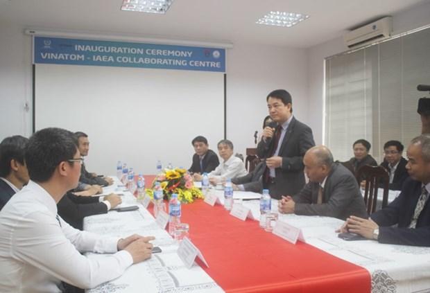 Inauguration du Centre de cooperation AIEA-VINATOM sur l'eau et l'environnement hinh anh 1