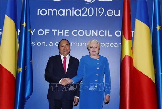 Declaration commune Vietnam - Roumanie hinh anh 1