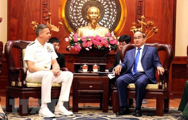 Le chef du commandement americain pour l'Indo-Pacifique a Ho Chi Minh-Ville hinh anh 1