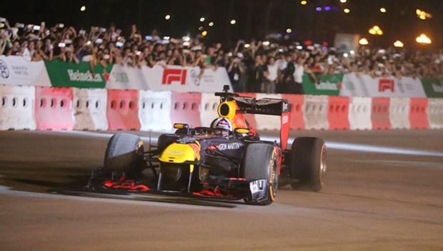 Lancement de la nouvelle saison de F1 a Hanoi hinh anh 1