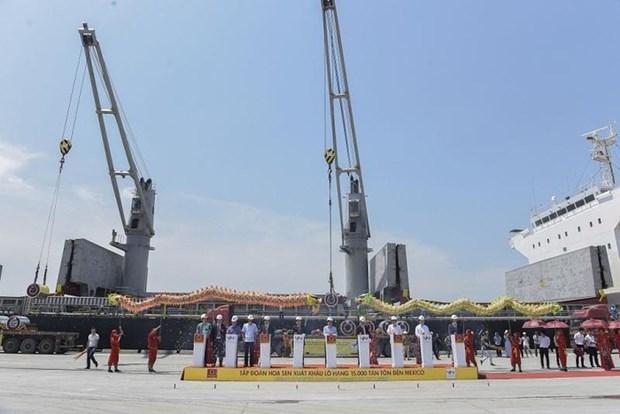 Le groupe Hoa Sen exporte 15 000 tonnes de tole sur le marche mexicain hinh anh 1