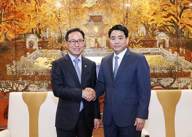 Hanoi facilitera la construction du centre de recherche et de developpement de Samsung hinh anh 1