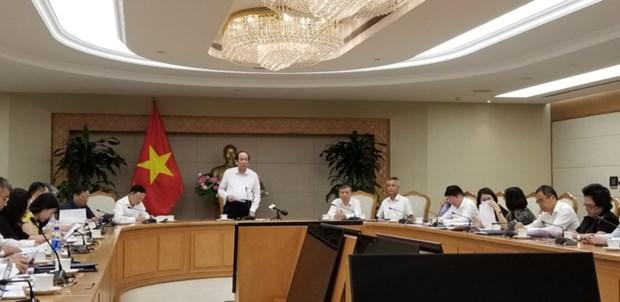 Une reunion au gouvernement pour resoudre les problemes des entreprises hinh anh 1