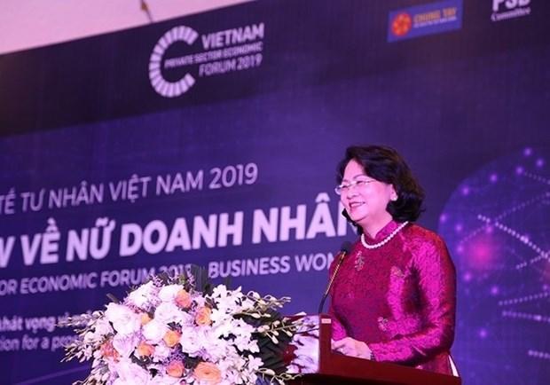 Forum du secteur economique prive: un seminaire sur les femmes d'affaires hinh anh 1