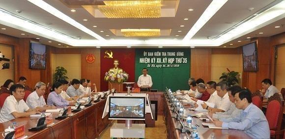 La Commission du controle du Comite central du Parti tient sa 35e reunion hinh anh 1