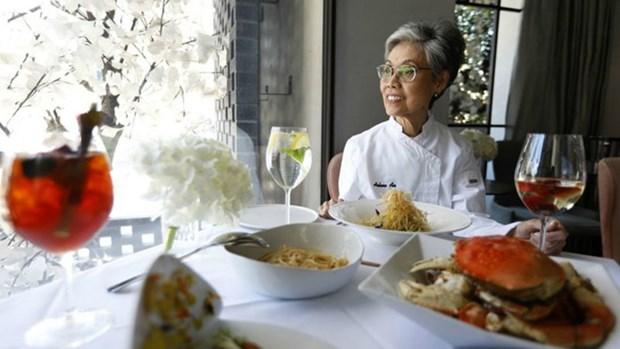 """Une femme chef d'origine vietnamienne recoit le prix """"Pionnier"""" aux Etats-Unis hinh anh 1"""