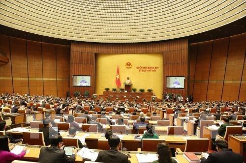 Les deputes discutent de questions socio-economiques le 22 mai hinh anh 1
