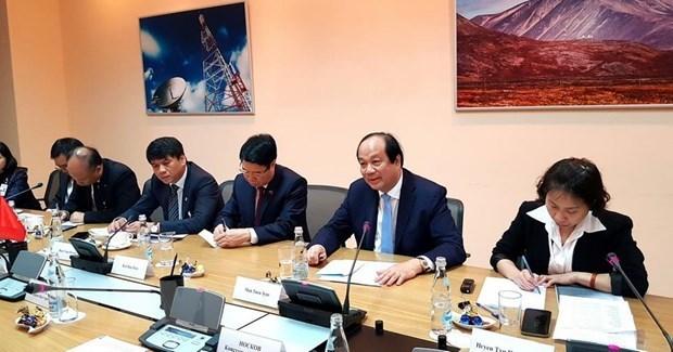 Vietnam et Russie promeuvent la cooperation pour edifier l'e-gouvernement hinh anh 1