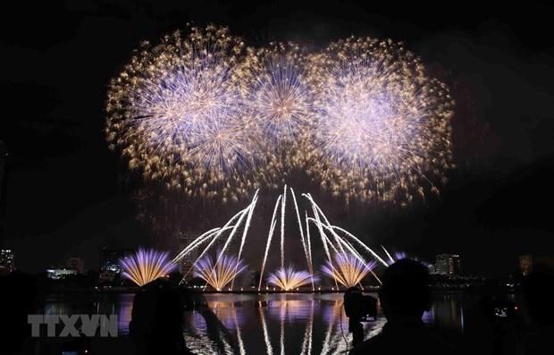 La ville de Da Nang prete pour le 10e festival international de feux d'artifice hinh anh 1