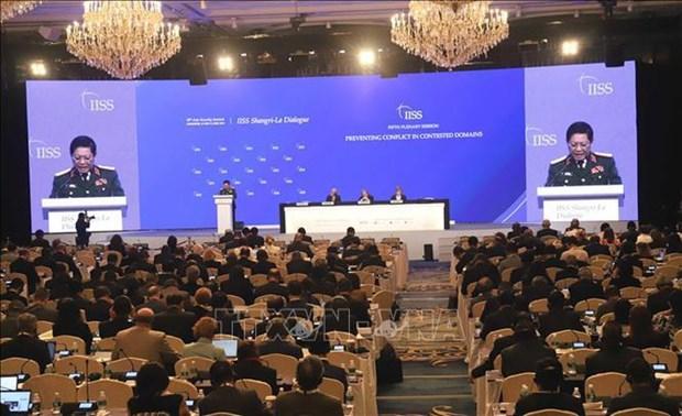 Dialogue Shangri-La 2019: Prevenir les conflits, assurer une region autonome et stable hinh anh 1
