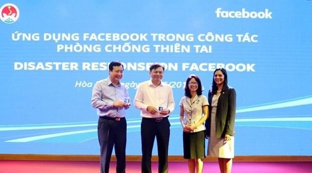 Facebook aide le Vietnam a ameliorer la prevention et la gestion des catastrophes naturelles hinh anh 1