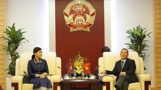 Vietnam-Cambodge: cooperation renforcee dans le developpement des postes et des telecommunications hinh anh 1