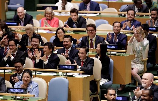 Vietnam-Conseil de securite de l'ONU: Opportunite de continuer a contribuer aux affaires mondiales hinh anh 1