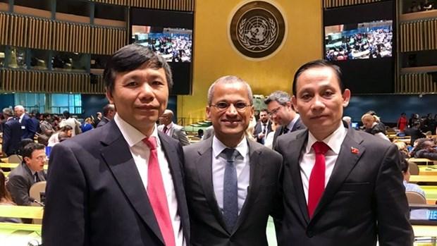 Les pays felicitent le Vietnam pour son election au Conseil de securite de l'ONU hinh anh 1