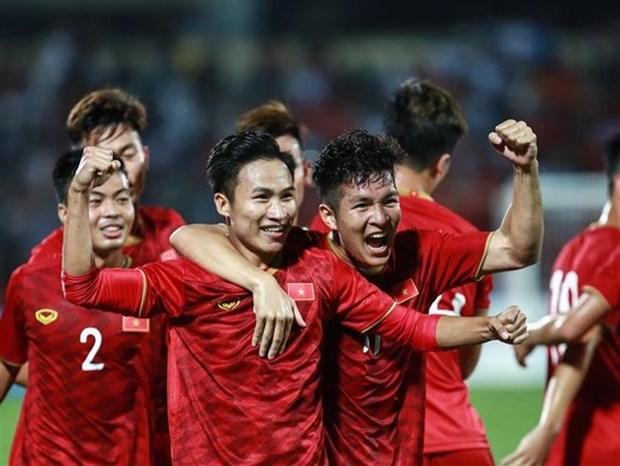 U-23 : Le Vietnam bat le Myanmar 2-0 en match amical hinh anh 1