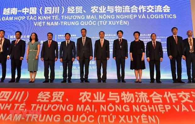 Vietnam et Chine renforcent leur cooperation dans le commerce, l'agriculture et la logistique hinh anh 1