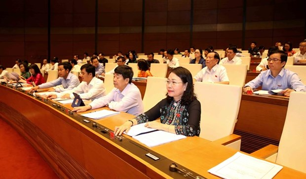 7e session de la XIVe legislature de l'AN : approbation de plusieurs lois revisees hinh anh 1