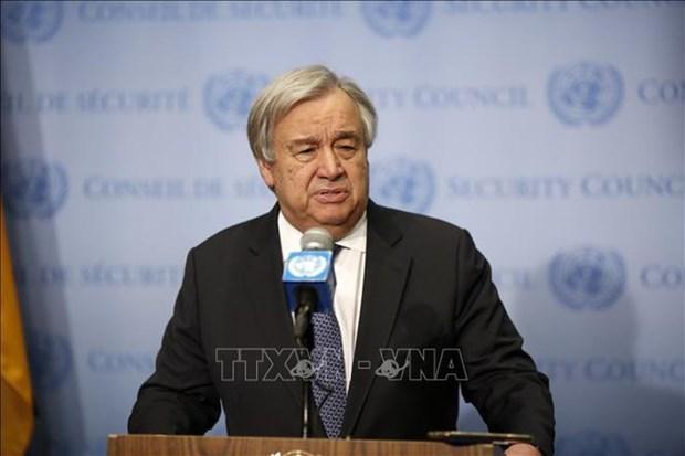 Le Secretaire general de l'ONU souligne le role du developpement durable des mers et oceans hinh anh 1