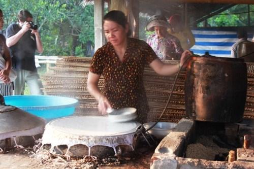 Les nouilles de riz de Cai Rang hinh anh 1