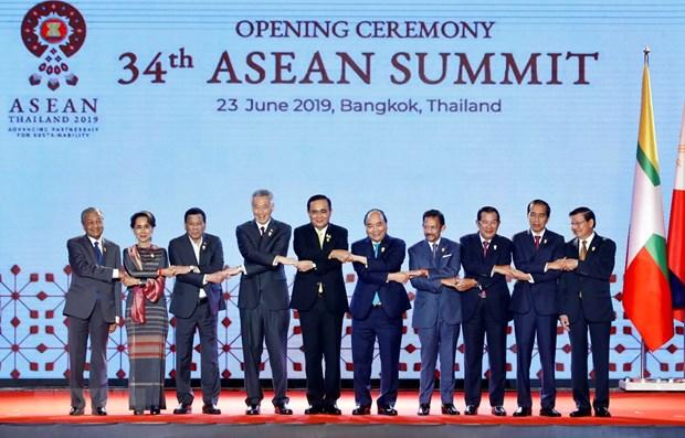 Le PM Nguyen Xuan Phuc assiste a la ceremonie d'ouverture du 34e Sommet de l'ASEAN hinh anh 1