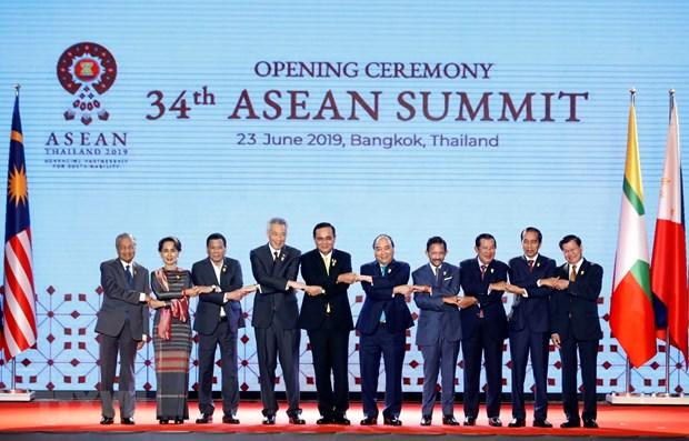 La reunion restreinte du 34eme sommet de l'ASEAN hinh anh 1