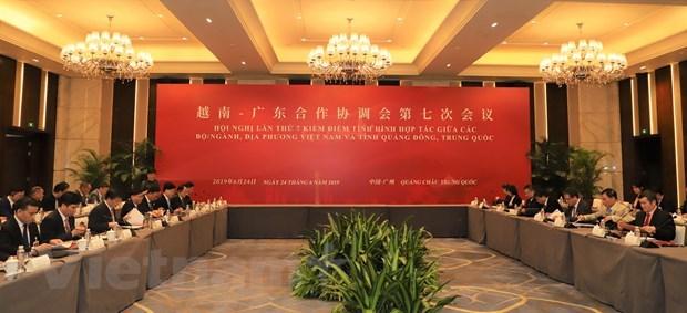 Promotion de la cooperation entre le Vietnam et la province chinoise du Guangdong hinh anh 1