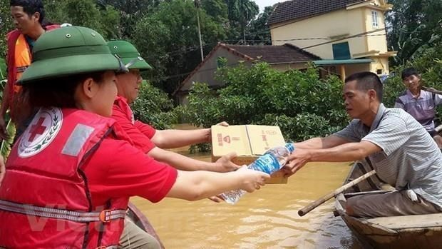 Cooperation intensifiee entre les societes de la Croix-Rouge de Thanh Hoa et de Houaphane hinh anh 1