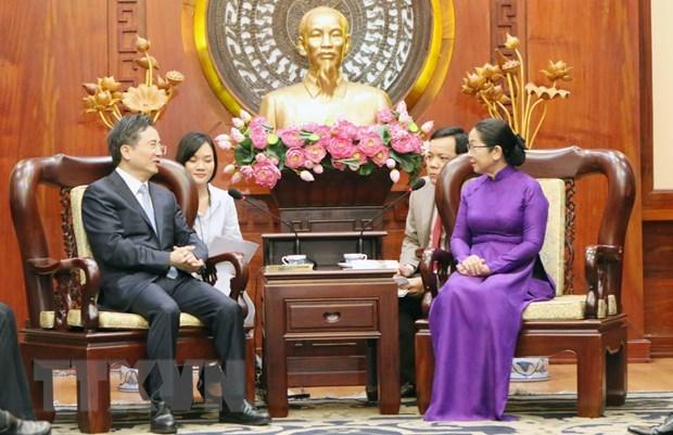 Promouvoir la cooperation entre Ho Chi Minh-Ville et la ville de Hangzhou (Chine) hinh anh 1