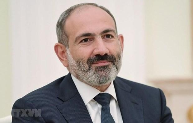 Le Premier ministre armenien entame sa visite officielle au Vietnam hinh anh 1