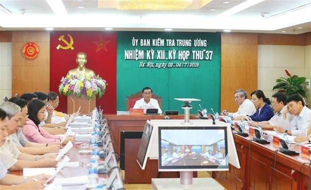 La Commission du controle du Comite central du Parti tient sa 37e reunion hinh anh 1