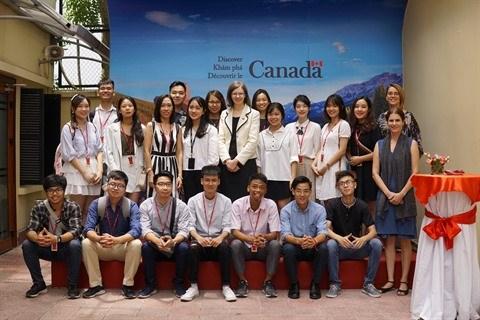 Rencontre des boursiers du gouvernement canadien de 2019 hinh anh 1