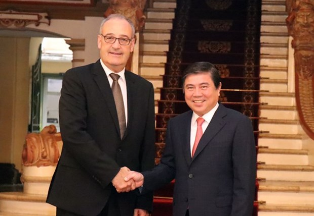Ho Chi Minh-Ville renforce sa cooperation avec la Suisse hinh anh 1