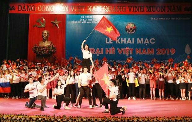 Ouverture du Camp d'ete du Vietnam 2019 hinh anh 1