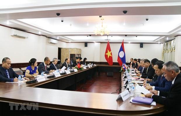 4eme consultation politique Vietnam - Laos hinh anh 1